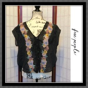 Free People Short Top - EUC- Size S